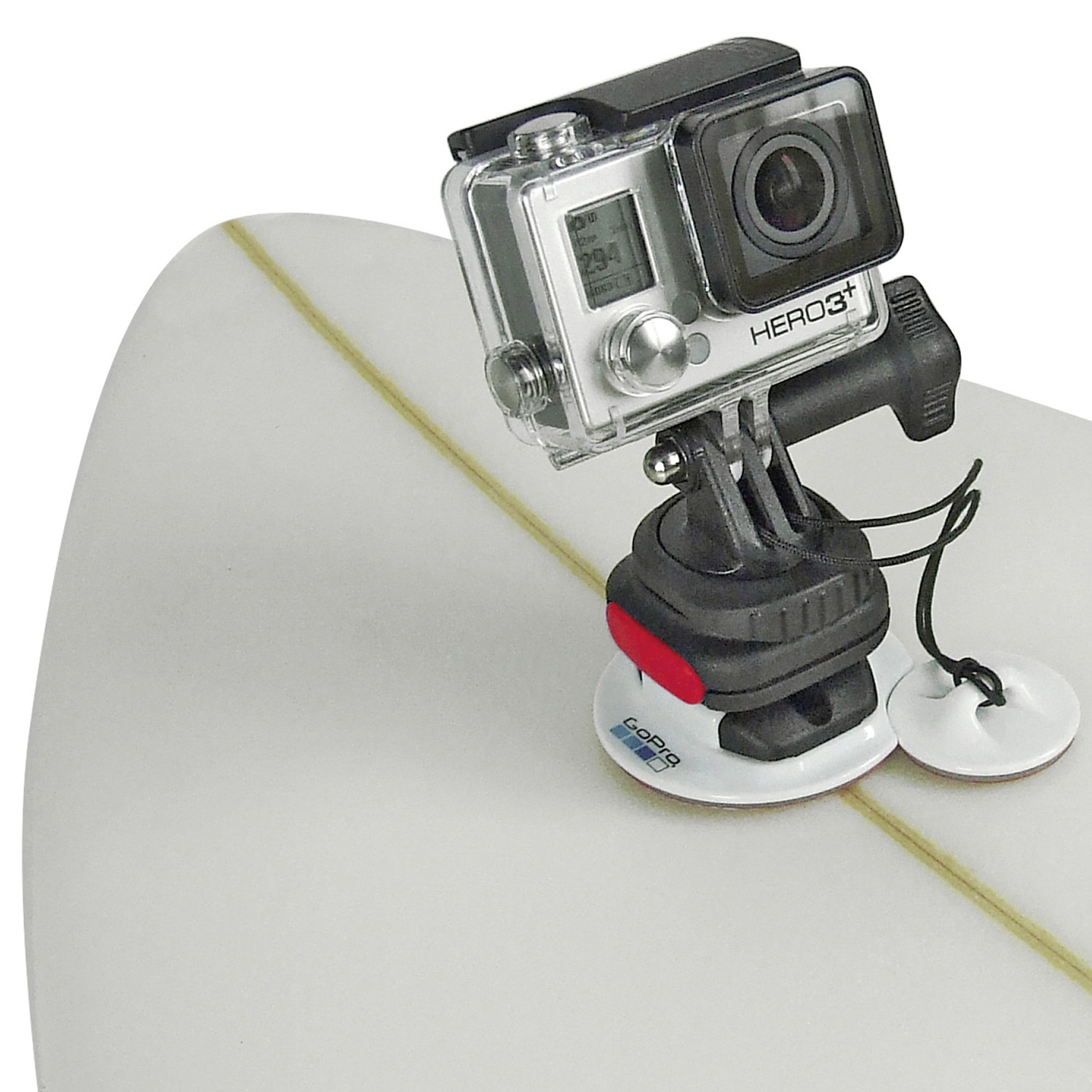 MiniBloc GP plate, fits with Gopro adhesive plates and CamOn! Adapter