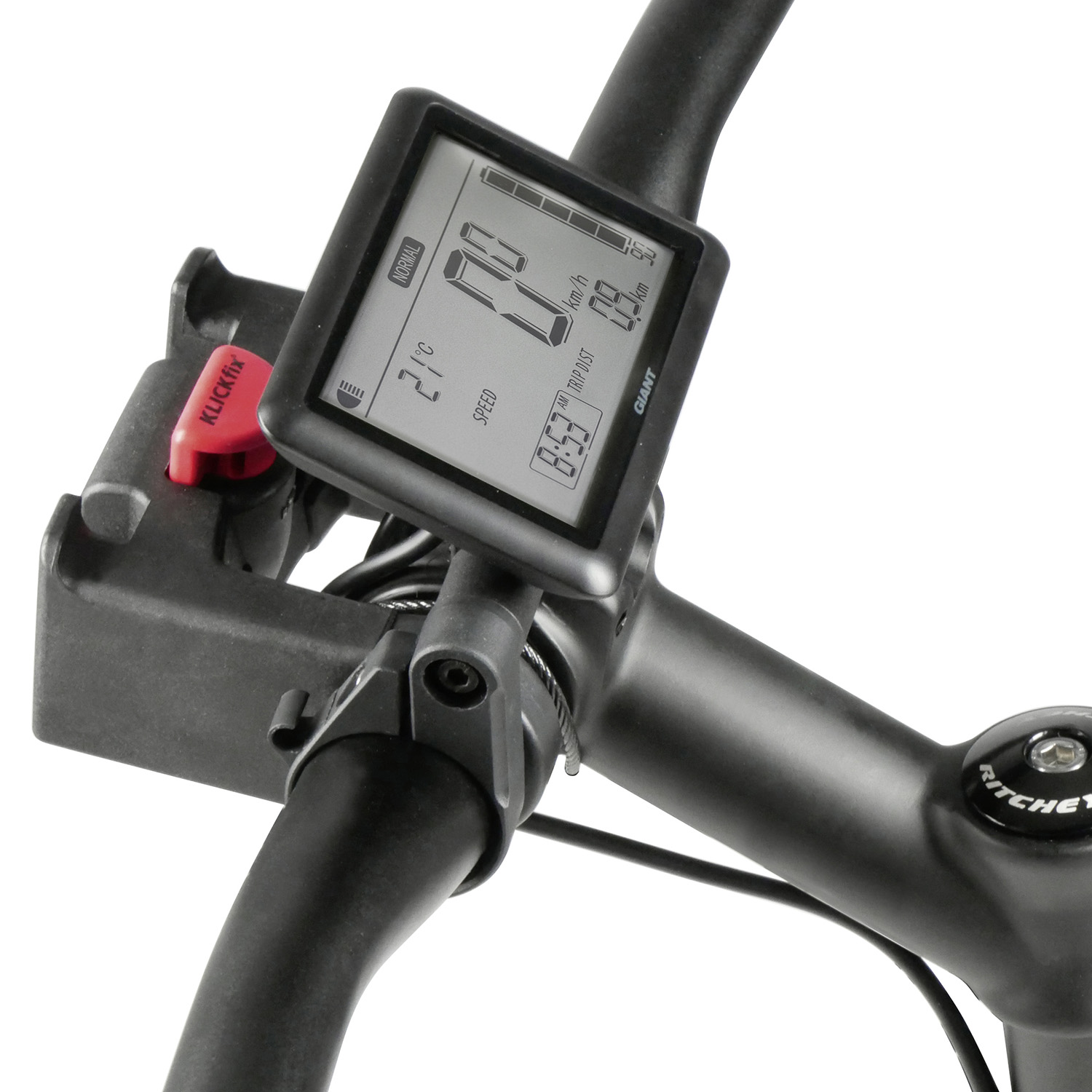 Display Spacer, e-bike display Yamaha in conjunction with handlebar adapter