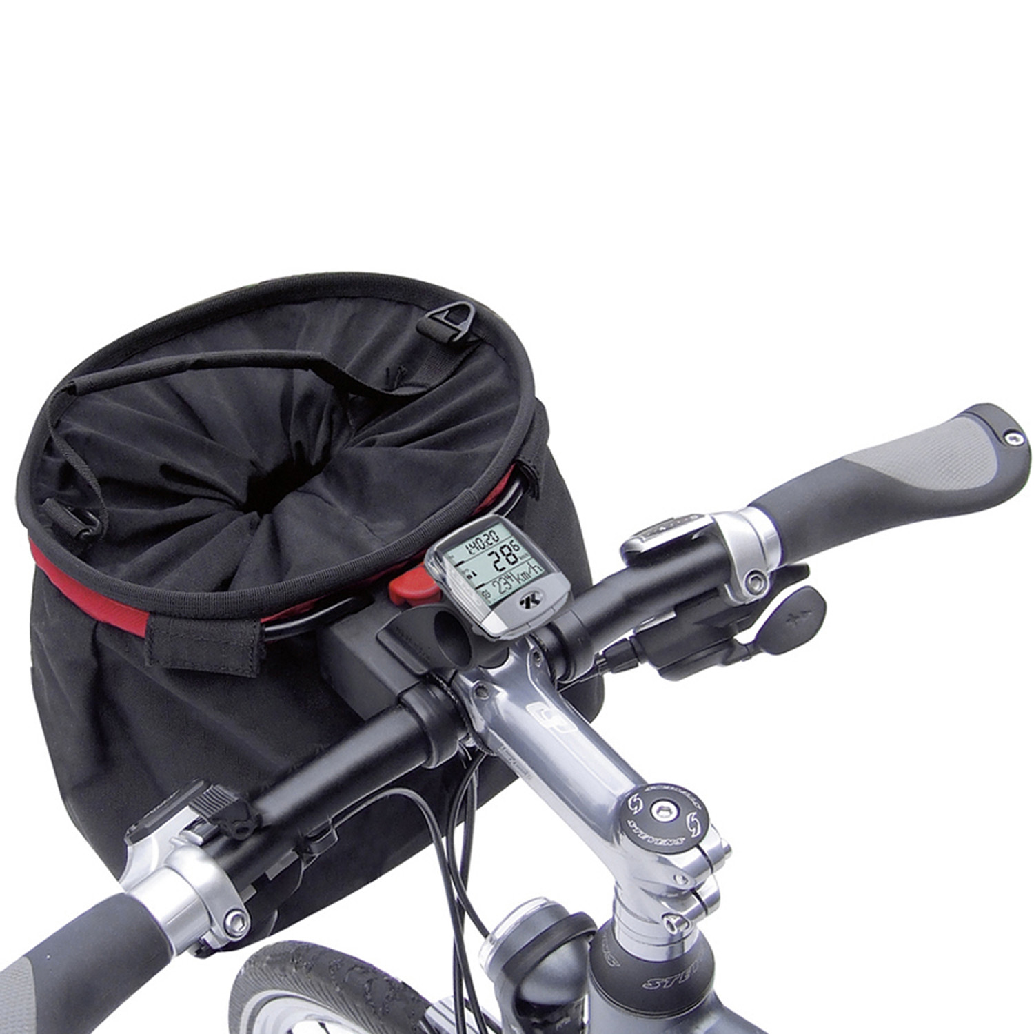 MultiClip, more space on handlebar, combinable with Handlebar Adapter