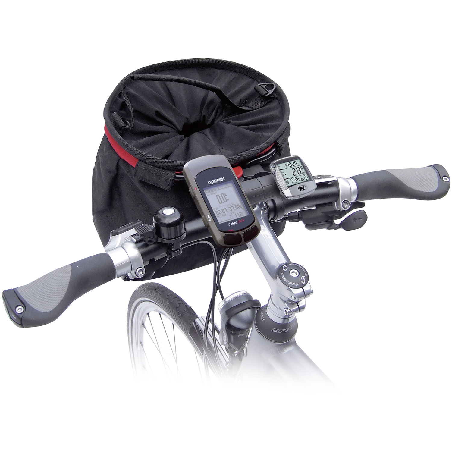 MultiClip Plus, more space on handlebar, combinable with Handlebar Adapter