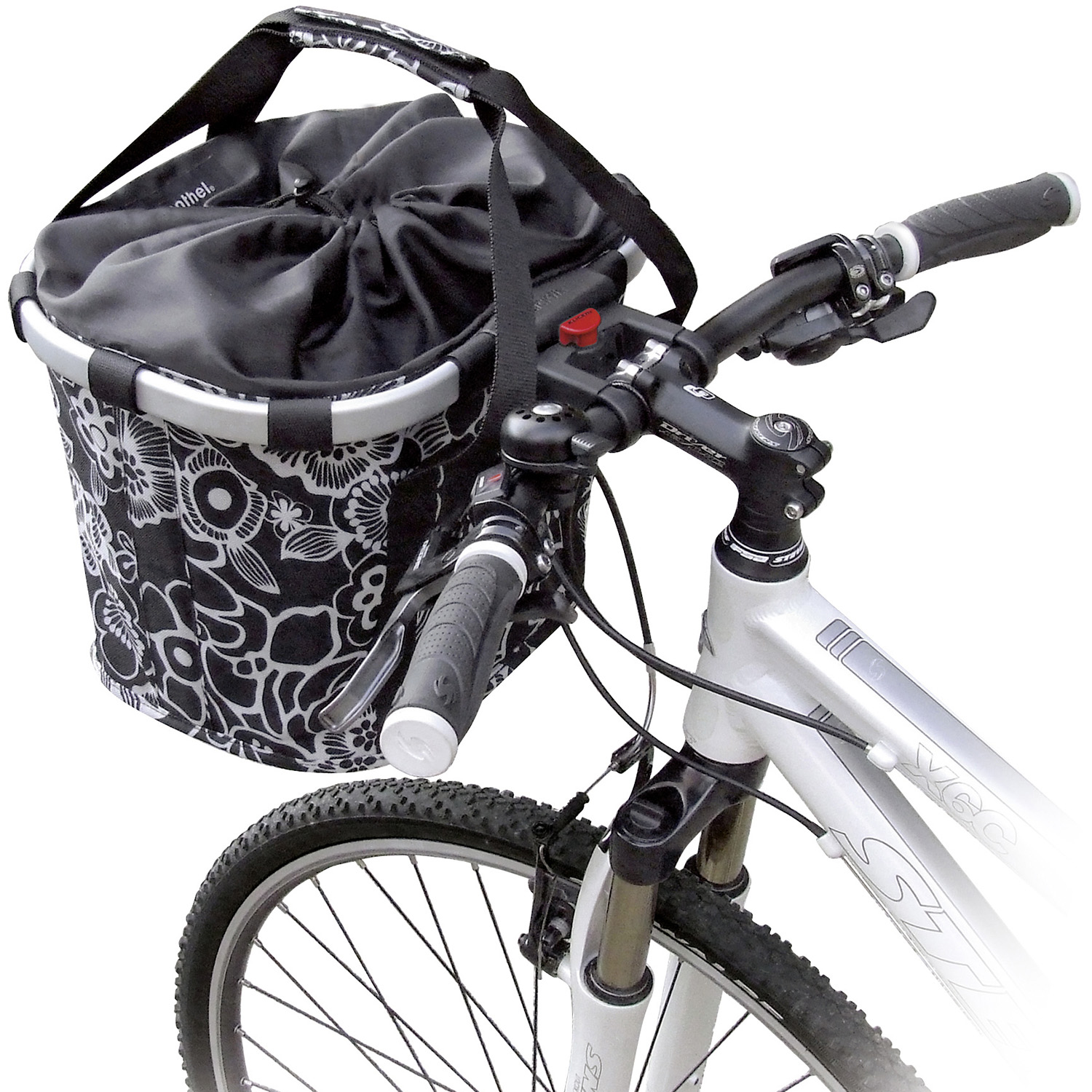Bikebasket, Reisenthel basket with KLICKfix coupling for handlebar adapter