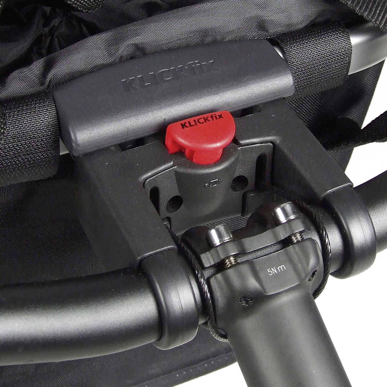 Bikebasket, Reisenthel Textilkorb mit KLICKfix Kupplung für Lenkeradapter