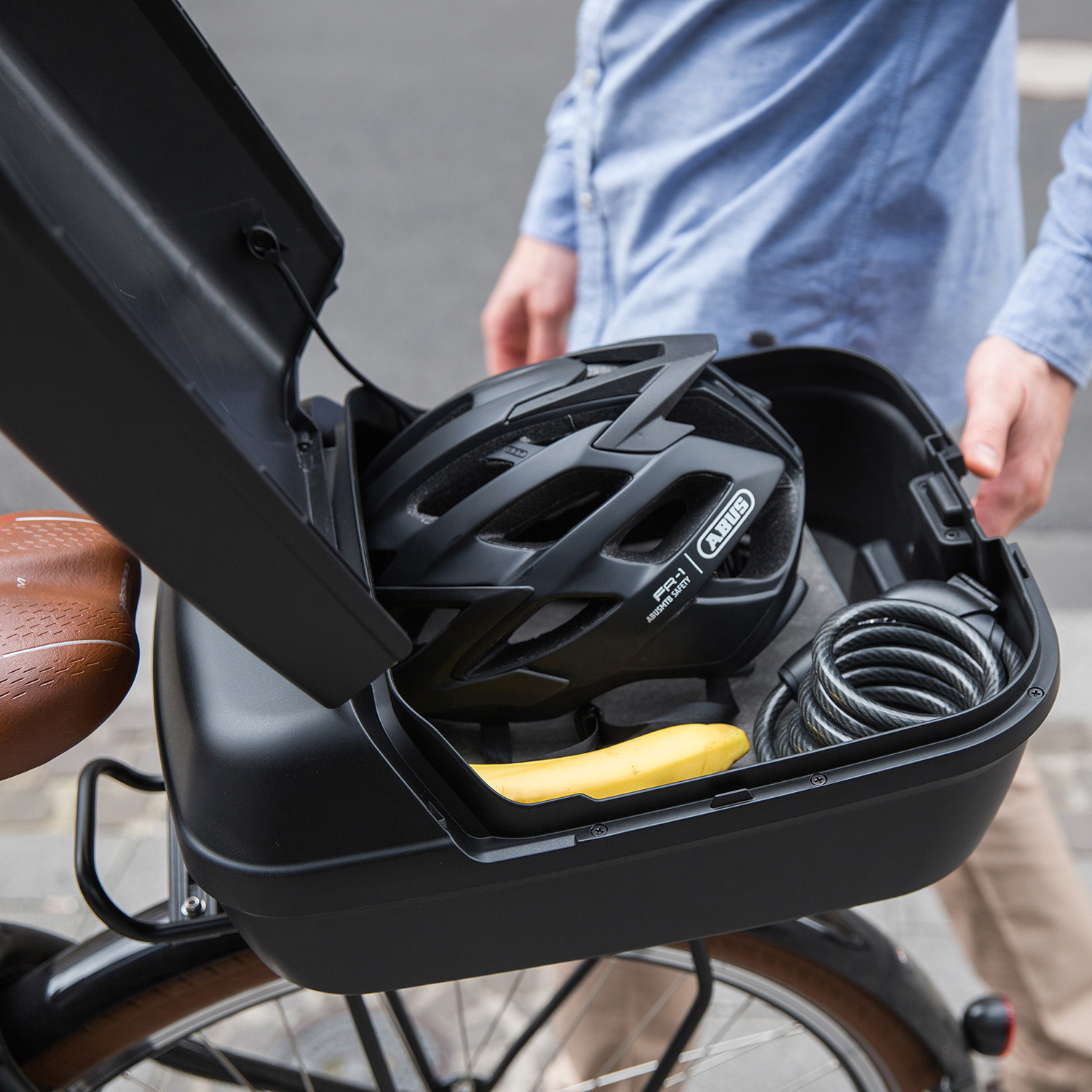 Citybox, big bikebox – for any type of carrier